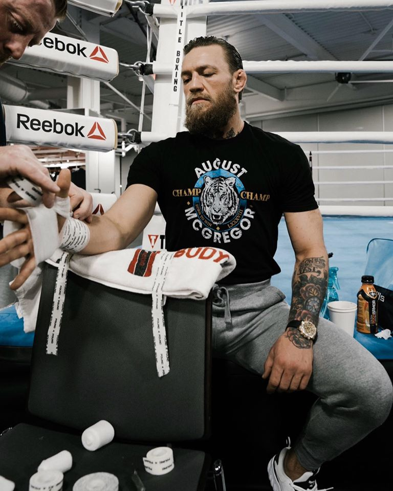 Conor McGregor trở lại