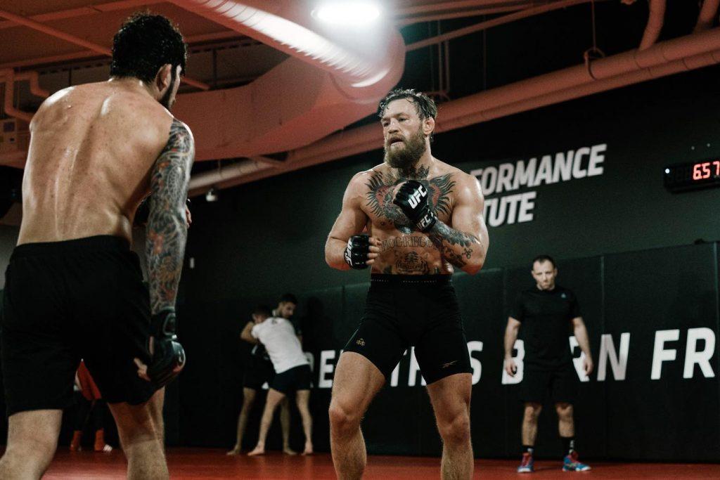 Những hình ảnh tập luyện của Conor McGregor cho ngày trở lại tại UFC 246