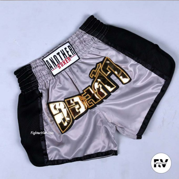 Quần Muay Thái Another Boxer Xám Đen