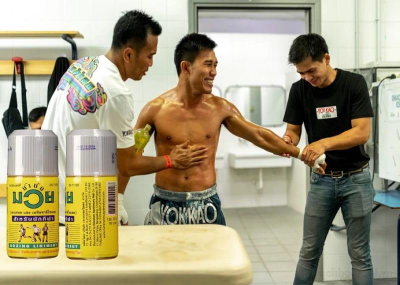 Dầu xoa bóp Namman Muay Boxing Liniment Thái Lan 120ml