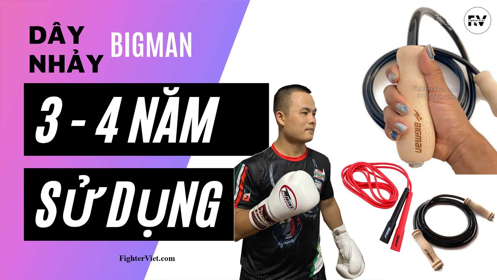 Vì sao dây nhảy BigMan Thái Lan được yêu thích đến vậy ?