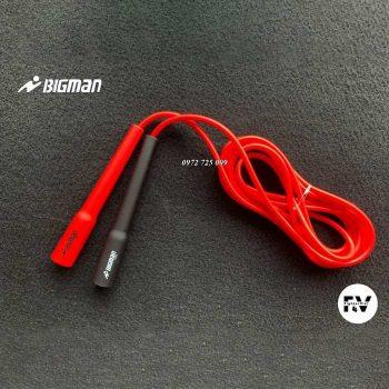dây nhảy bigman speed rope 130g đen đỏ