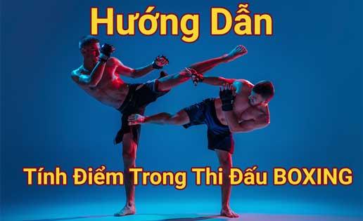 hướng dẫn cách tính điểm thi đấu boxing